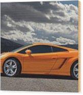 Lamborghini Exotic Car Wood Print