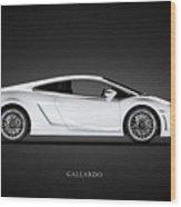 Lamborghini Gallardo Wood Print