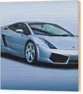 Lamborghini Gallardo 'track Terror' I Wood Print