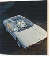 Lamborghini Marzal Wood Print