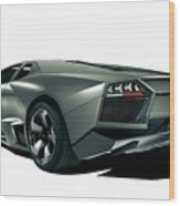 Lamborghini Reventon 2 Wood Print