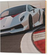 Lamborghini Sesto Elemento - 03 Wood Print