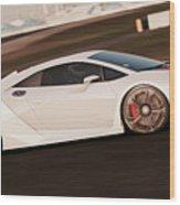 Lamborghini Sesto Elemento - 05 Wood Print