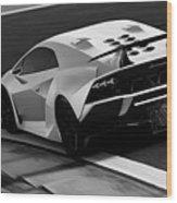 Lamborghini Sesto Elemento - 10 Wood Print