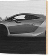 Lamborghini Sesto Elemento - 19 Wood Print