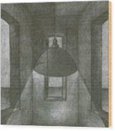 Lamp Wood Print