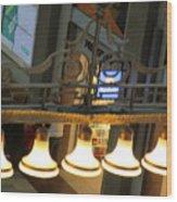 Lamps At The Big C Wood Print