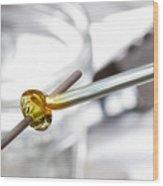 Lampwork Glass Bead Wood Print