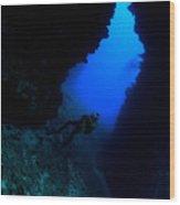 Lanai Arch Wood Print
