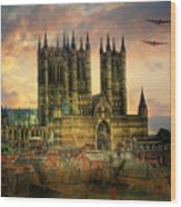 Lancaster Bombers Tour Wood Print