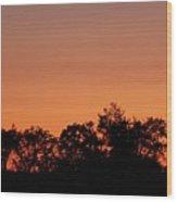 Lancaster County Sunset Wood Print