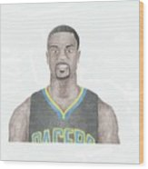 Lance Stephenson Wood Print by Toni Jaso