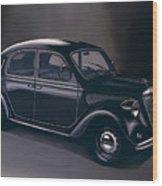 Lancia Ardea 1939 Painting Wood Print