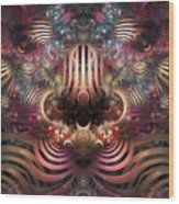 Land Of Confusion Wood Print
