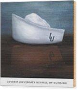 Lander University School Of Nursing Wood Print