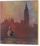 Landing Place- London Wood Print