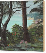 Land's End Wood Print