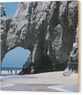 Lands End Archway Wood Print