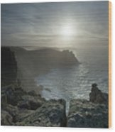 Land's End, Cornwall, England Wood Print