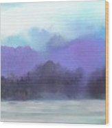 Landscape 02-19-10 Wood Print