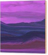 Landscape 022011 Wood Print