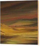 Landscape 022111 Wood Print