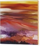 Landscape 022511 Wood Print