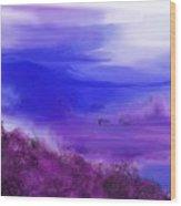 Landscape 081610 Wood Print