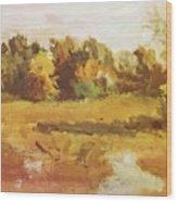 Landscape 1884 Wood Print