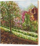 Landscape 2 Wood Print