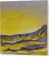 Landscape 4 Wood Print