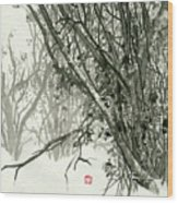 Landscape - 78 Wood Print