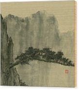 Landscape - 86 Wood Print