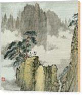 Landscape - 88 Wood Print