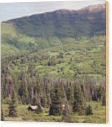 Landscape Alaska  Wood Print