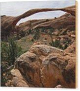 Landscape Arch -- Arches National Park Wood Print