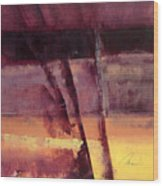 Landscape Contempo No.3 Wood Print