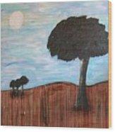 Landscape - Distant Cousins Wood Print