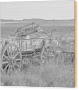 Landscape Galisteo Nm A10k Wood Print
