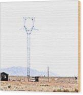 Landscape Galisteo Nm H10a Wood Print