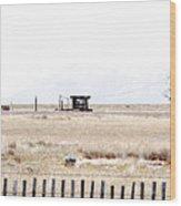Landscape Galisteo Nm I10c Wood Print