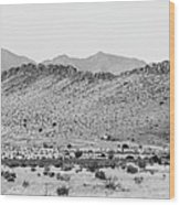 Landscape Galisteo Nm I10o Wood Print