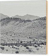 Landscape Galisteo Nm I10p Wood Print