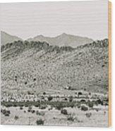 Landscape Galisteo Nm I10q Wood Print