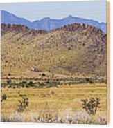 Landscape Galisteo Nm I10s Wood Print