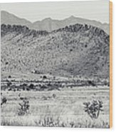 Landscape Galisteo Nm I10u Wood Print