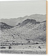 Landscape Galisteo Nm J10a Wood Print