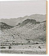 Landscape Galisteo Nm J10b Wood Print