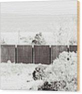 Landscape Galisteo Nm J10h Wood Print