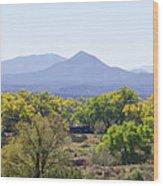 Landscape Galisteo Nm K10e Wood Print